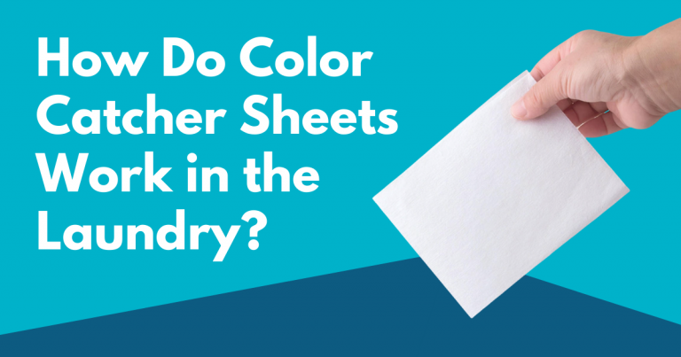 how do color catcher sheets work in the laundry image