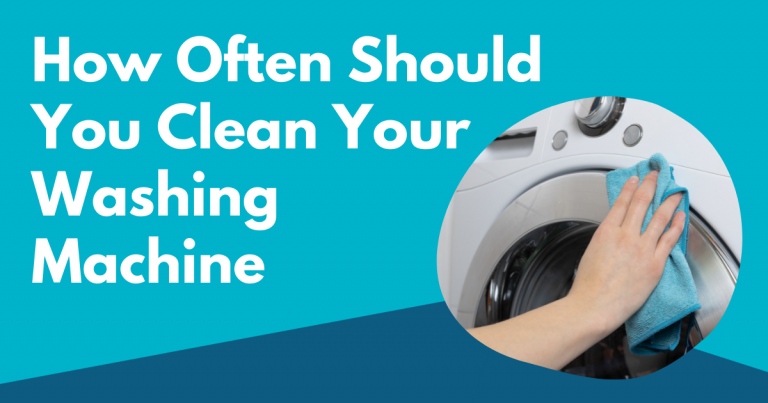 how often should you clean your washing machine image