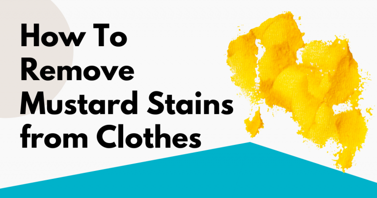 how to remove mustard stains from clothes image