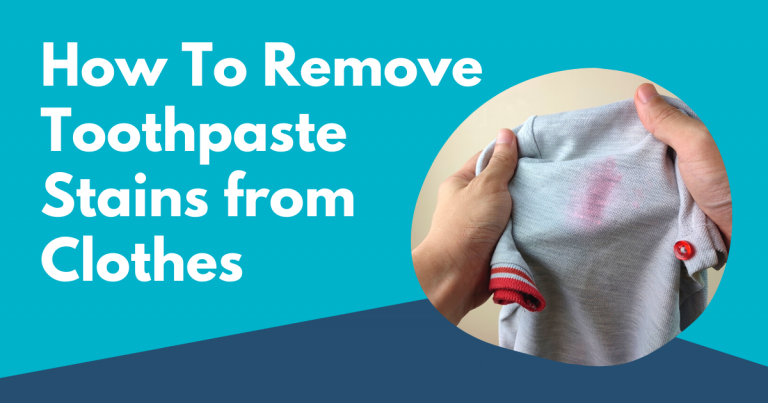 how to remove toothpaste stains from clothes image