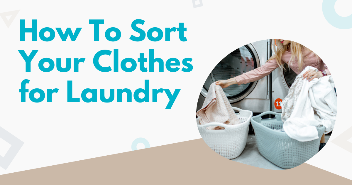 how to sort your clothes for laundry image