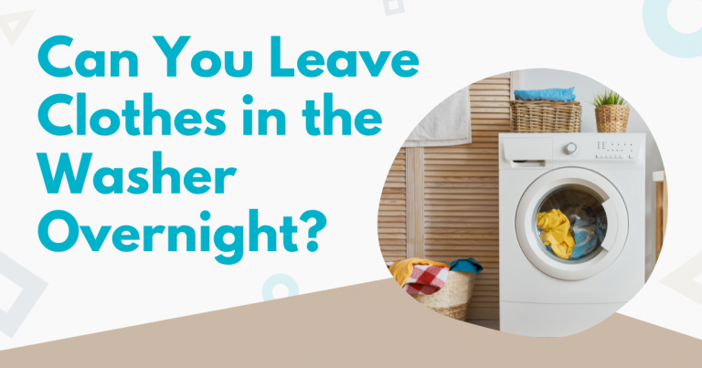 can you leave clothes in the washer overnight image