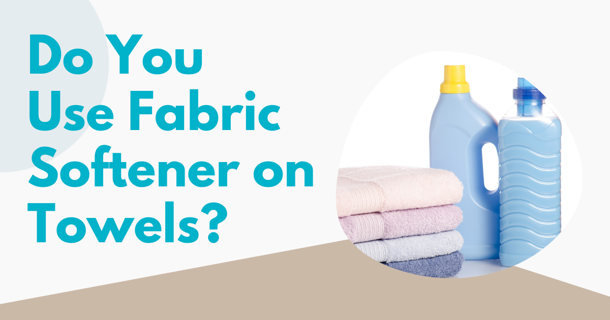 do you use fabric softener on towels image