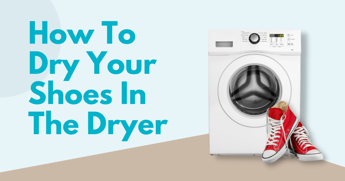 how to dry your shoes in the dryer image