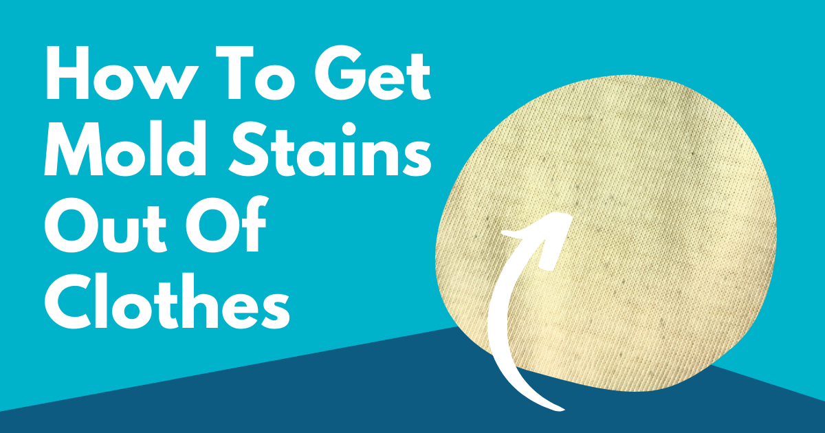 how to get mold stains out of clothes image