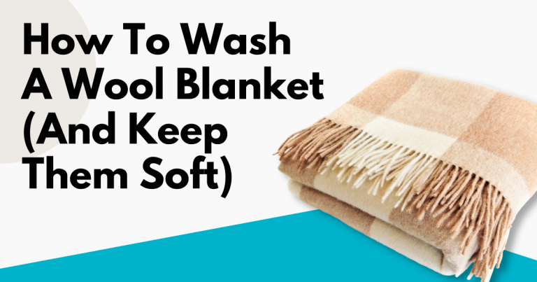 how to wash a wool blanket image