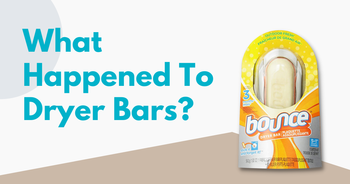 pack of bounce dryer bar against blue background