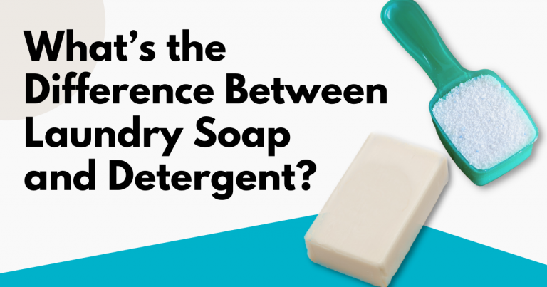 what's the difference between laundry soap and detergent image